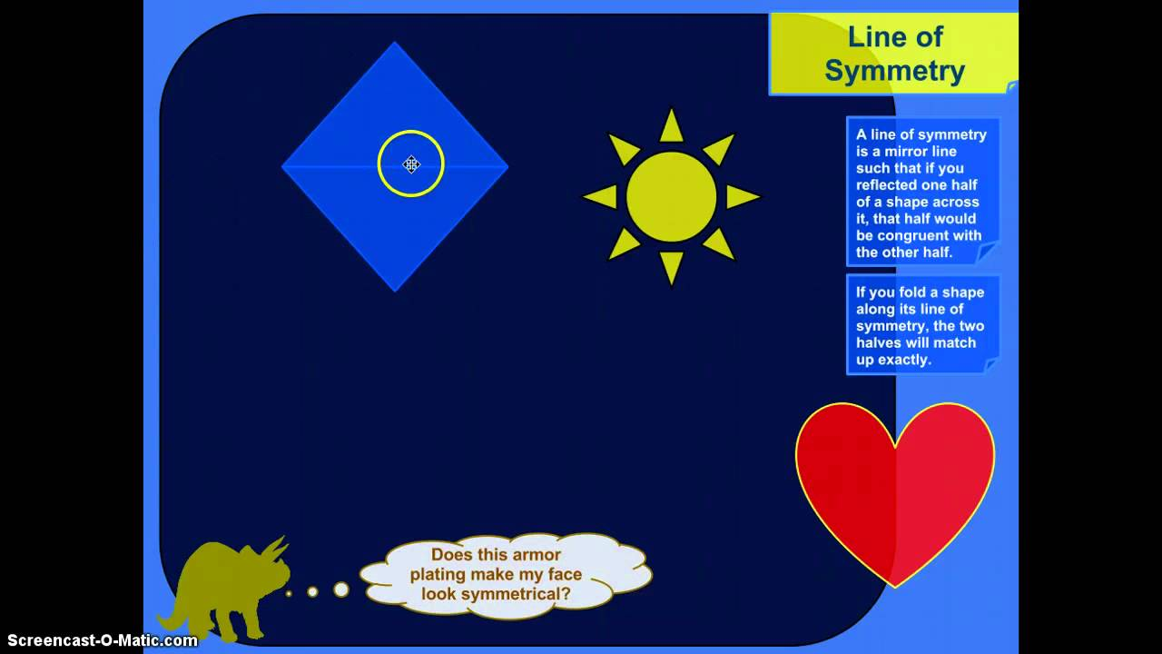 Lines of Symmetry - Grade 4 (examples [ 720 x 1280 Pixel ]