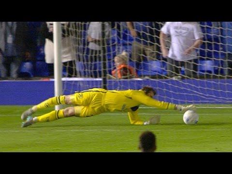 Save of the season contender? Tomasz Kuszczak (Birmingham) v Derby County