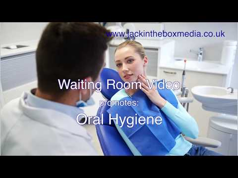 Waiting Room Promotions for Dental Clinic