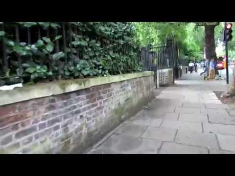 Walk Along Bayswater Road in London 2
