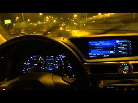 2016 Lexus GS 200t Night Driving Test Drive Jazda Próbna Testowa part 2