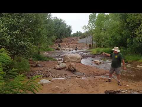 Flash Flood 07/15/17, First Crossing, Payson, AZ