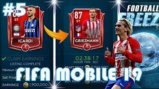 ŻEGNAJ ICARDI, WITAJ GRIEZMANN!? | Event FOOTBALL FREEZE! | FIFA 19 MOBILE #5