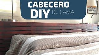 Como hacer un cabecero de cama | DIY headboard