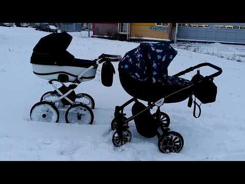 Классика или поворотные колеса на зиму? Черновой ролик, звук скоро исправим.