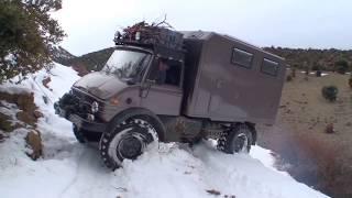 Expeditionsmobil Unimog 416 durch Marokko