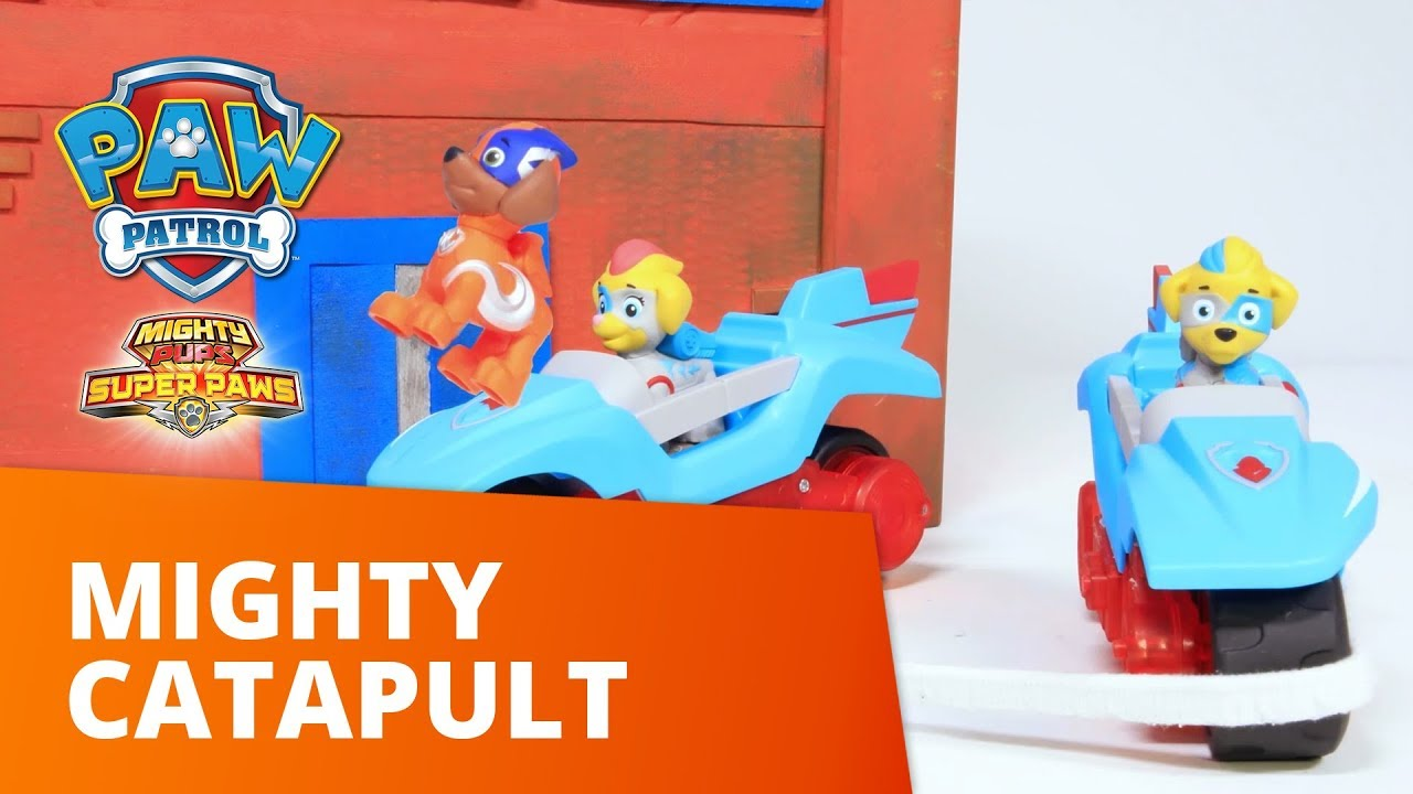 PAW Patrol | Mighty Catapult | Toy Episode | PAW Patrol Official & Friends