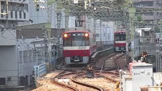 超速!京浜急行品川駅で見た高速折り返し!品川駅近くの引込線での折り返し作業時間30秒未満!