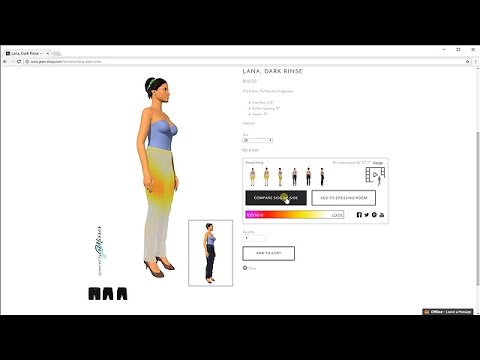 Virtual Fitting Room for E-Commerce