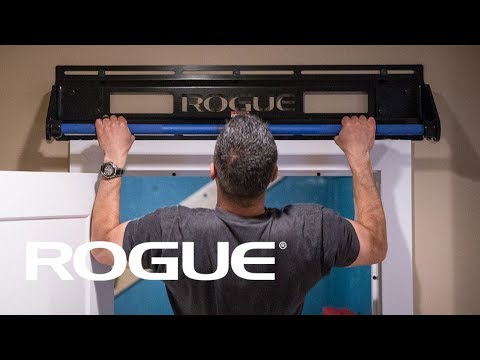 The Rogue Door Jammer Pull Up Bar Youtube