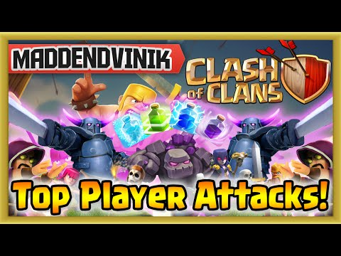 Clash of Clans - Top Player Attacks & Season Tournament End (Gameplay Commentary)