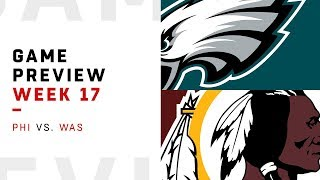 Philadelphia Eagles vs. Washington Redskins | Week 17 Game Preview | Move the Sticks