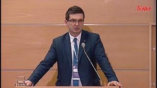 Konferencja w WSKSiM: Dr Dominik Smyrgała