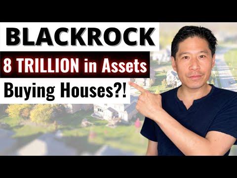 Blackrock Buying Houses