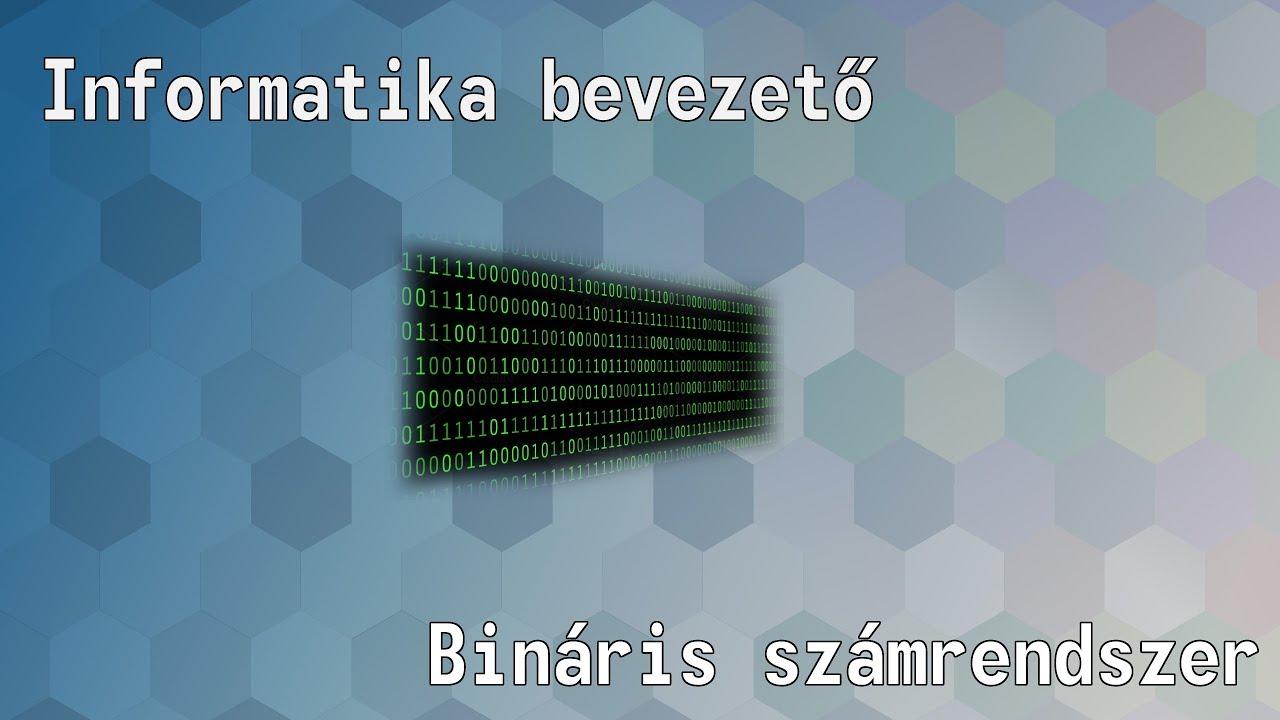 Automatikus bináris jelek áttekintése