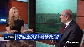 Alan Greenspan: We're On The Edge Of A Trade War | CNBC