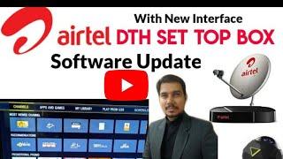 Airtel DTH Software Update | Airtel Setup Box | Airtel Set Top Box New Interface | AryRock Tech screenshot 4