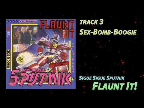 Sigue Sigue Sputnik - Flaunt It, 1986 (full album)