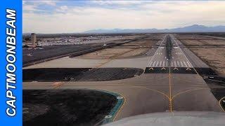 Cessna Citation Landing Tucson Arizona (Commentary)