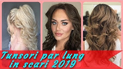 Tunsori Moderne Femei Par Lung In Scari 2018