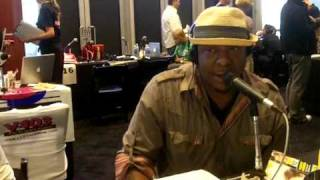 Sana G Backstage @ The 2011 Grammy Awards! Interview w/ Bobby Brown