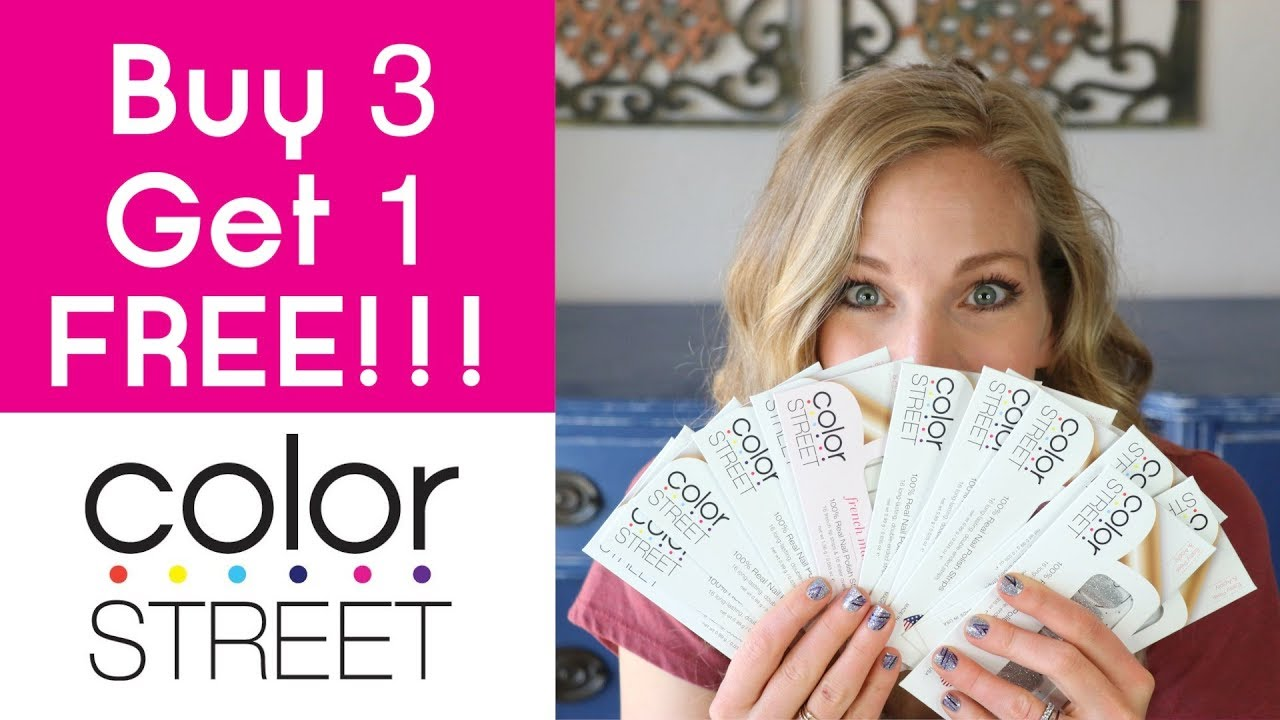 Buy 3 Get 1 FREE!!! Color Street Nail Strips! SOLIDS ...