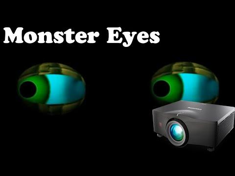 Monster Eyes Halloween Animated Eyes 2 Hour Loop Youtube