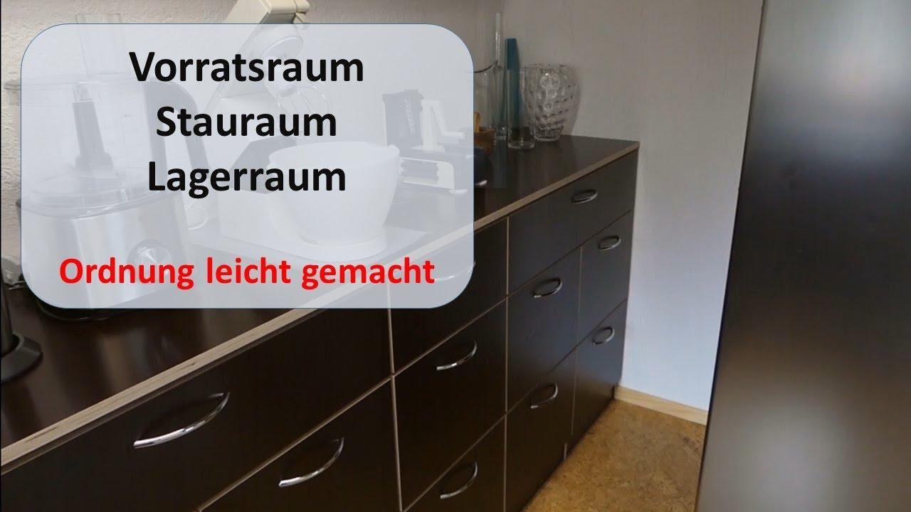 ordnung schaffen im vorratsraum lagerraum stauraum schaffen ordnung leicht gemacht youtube. Black Bedroom Furniture Sets. Home Design Ideas