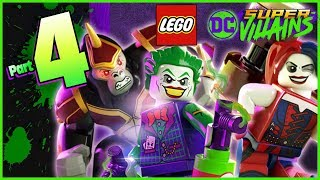 LEGO DC Super Villains Walkthrough Part 4 Stars in Your Eyes (Co-op Gameplay)