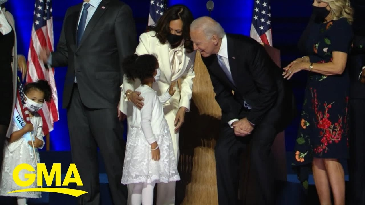 Joe Biden, Kamala Harris deliver 1st message of unity after historic win l GMA