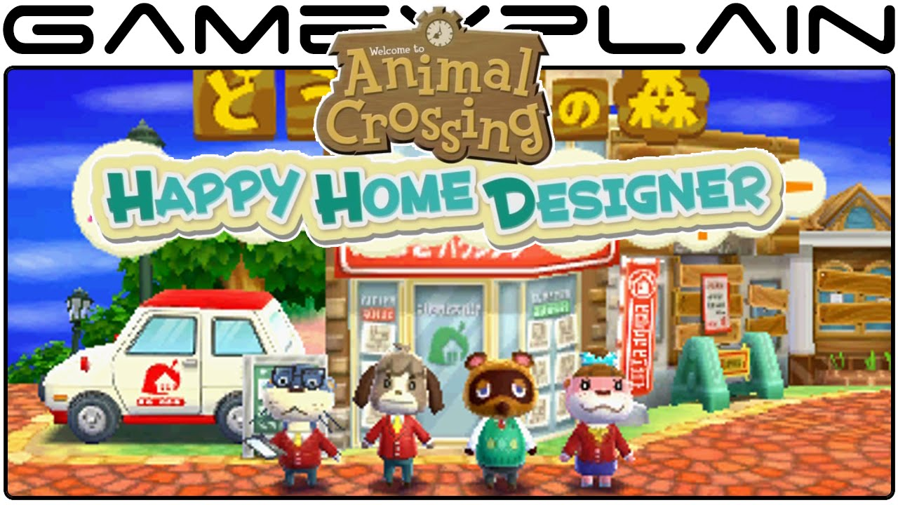 animal crossing happy home designer game watch first 40 minutes - Home Designer Games