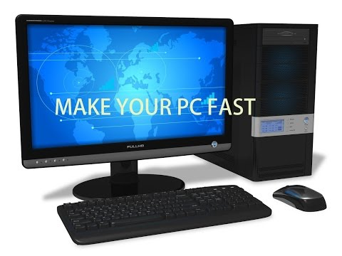 How to make your computer/pc faster/clean temp files