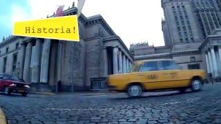 Zwiedzanie Warszawy Fiatem 125P video