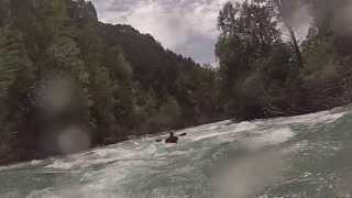 Río Ara, Torla a Broto