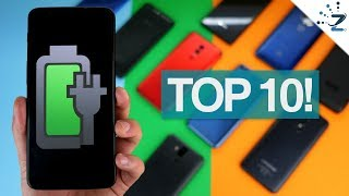 Top 10 Budget Big Battery Phones of 2018!