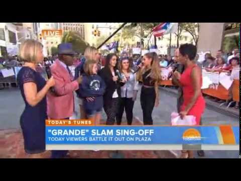 Ariana Grande Surprises Fans On TODAY Plaza