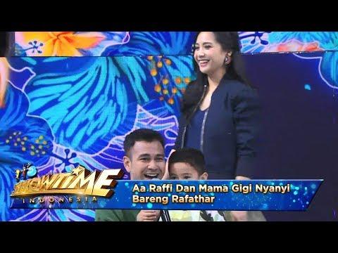 Download lagu terbaru Aa Raffi Dan Mama Gigi Nyanyi Bareng Rafathar [KAMULAH TAKDIRKU] - It's Show Time (22/4) mp3 gratis