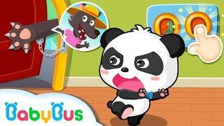 知らない人にドアを開けないでアニメ | 楽しい幼稚園 | みんなでお留守番 | 子供向け安全教育 | 赤ちゃんが喜ぶアニメ | 動画 | BabyBus thumbnail