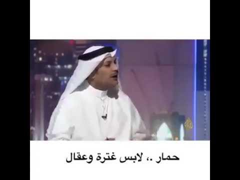 حمار لابس غتره وعقال Youtube