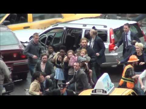 World War Z Brad Pitt body double in action - YouTube