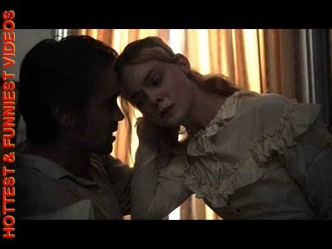 ELLE FANNING HOT SCENES IN THE BEGUILED HOLLYWOOD MOVIE WITH COLIN FARRELL