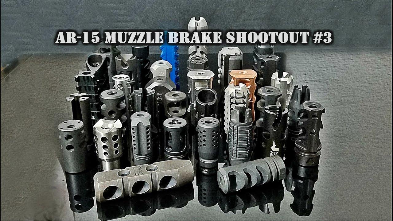 AR-15 Muzzle Brake Shootout #3 - The Truth About Guns