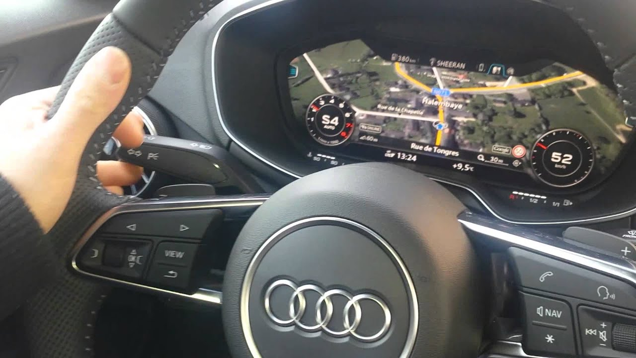Audi Tt Mmi With Google Earth Youtube
