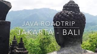 Java Roadtrip Documentation: Jakarta - Bali by Car (Indonesia Islands 4k)