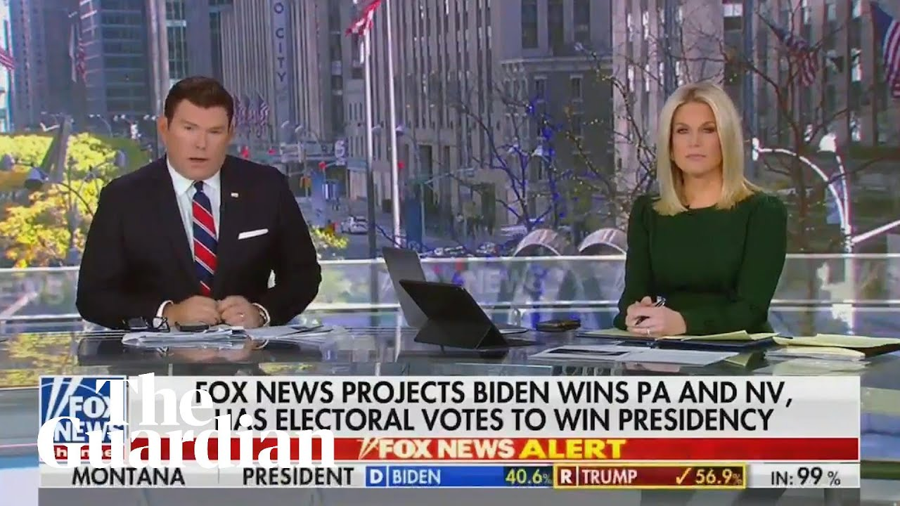 Fox News projects Joe Biden will win 2020 presidential election