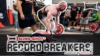 World's Strongest Humans Battle @ Sling Shot Record Breakers | The Official Day 1 RECAP