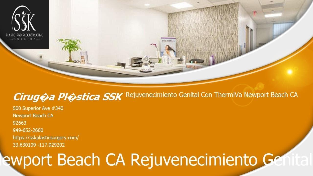 Rejuvenecimiento genital con ThermiVa® Newport Beach CA 949-652-2600