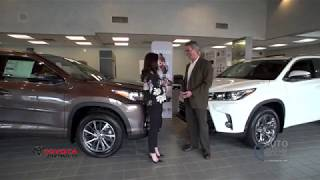 2018/2019 Toyota Highlander Presented by Toyota of Dartmouth in Dartmouth Massachusetts.
