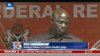 senate rejects nomination of magu as efcc chairman