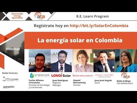 Webinar: La Energía Solar En Colombia